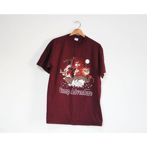 Vintage Looney Tunes Camp Adventure T Shirt